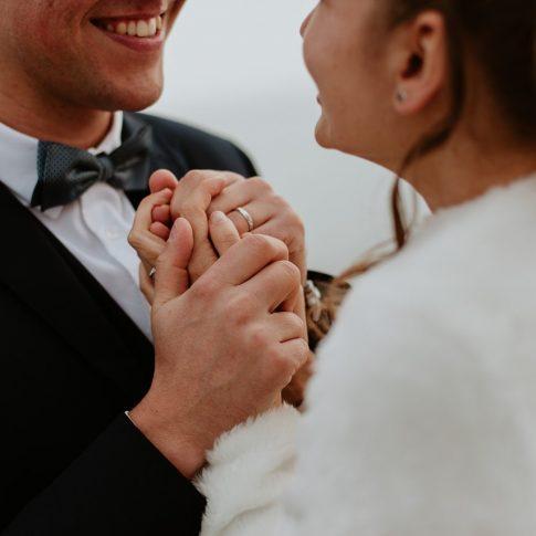 Séance couple après mariage nantes