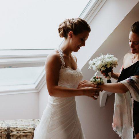 Préparation mariage témoin Pornichet