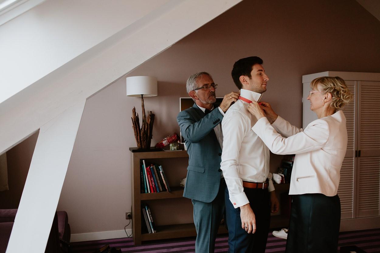 préparation marié parents