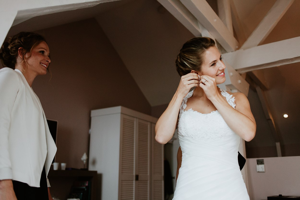préparation mariée
