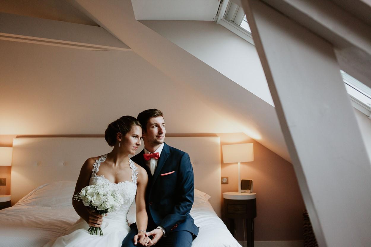Portrait mariés chambre