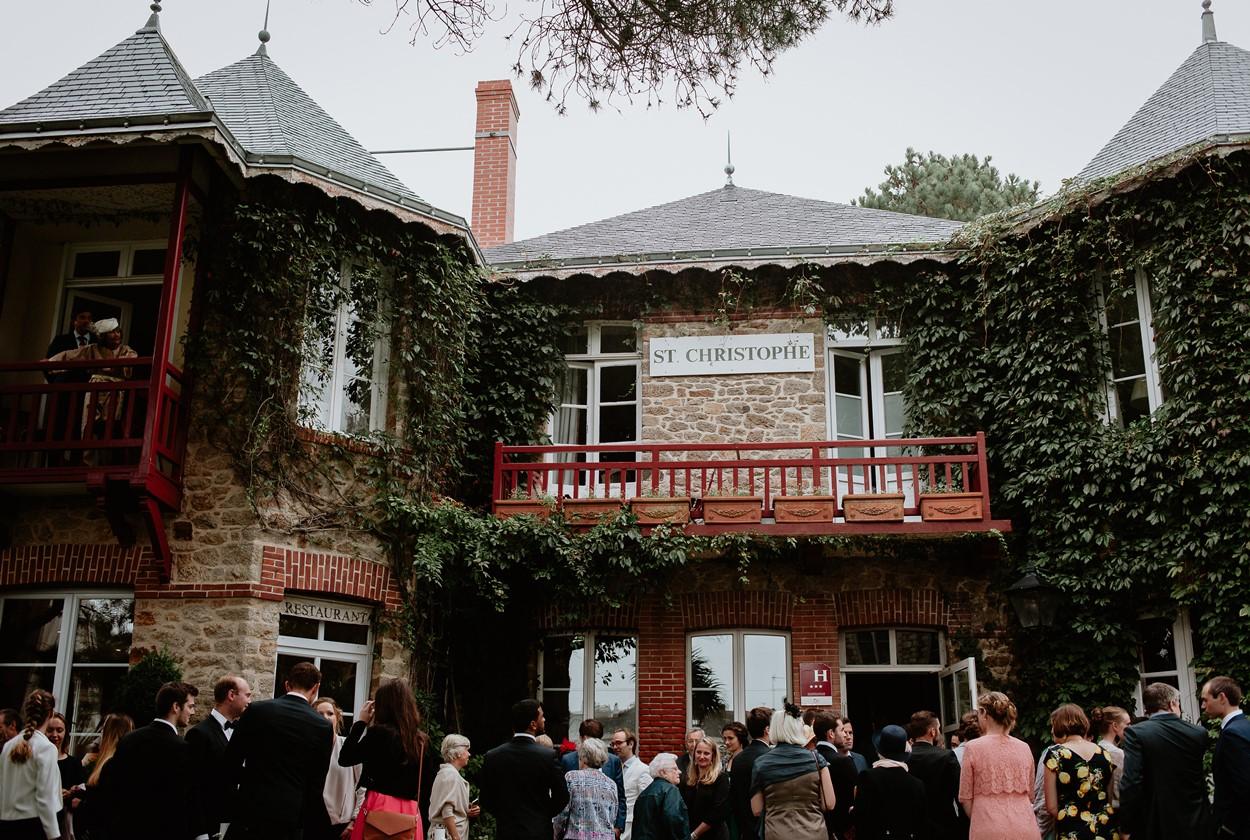 hôtel st-christophe réception mariage