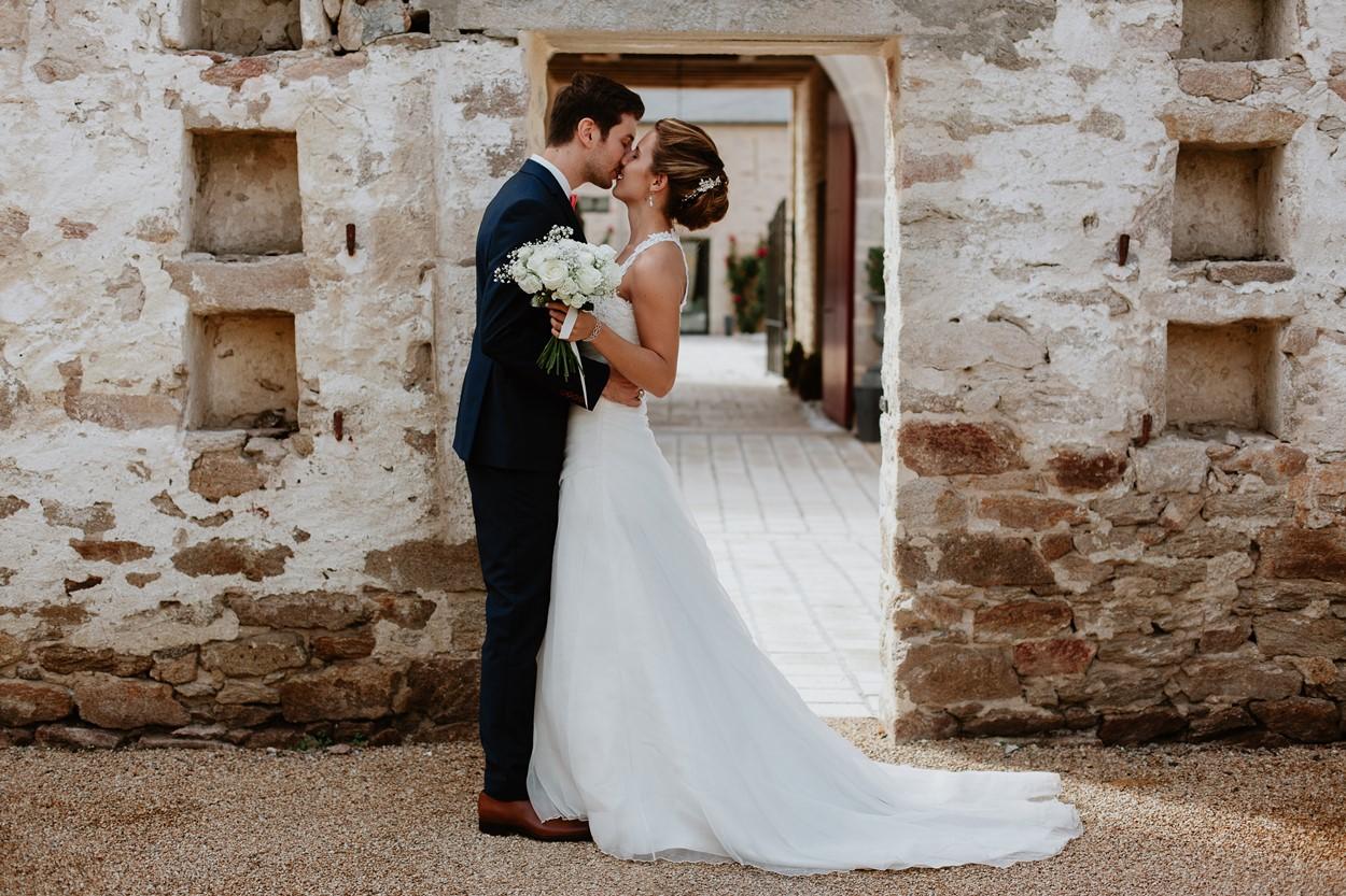photo mariés ferme lauvergnac