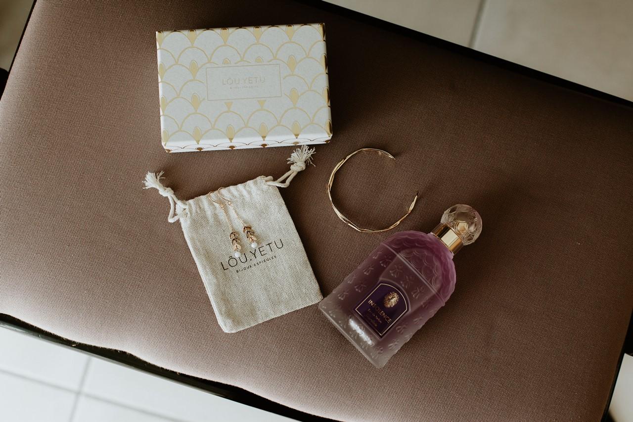 mariage cholet préparation accessoires mariée parfum bracelet