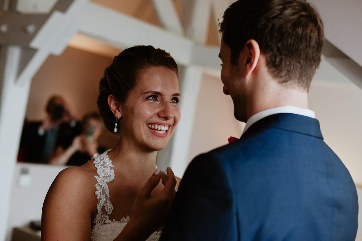 émotion découverte mariés