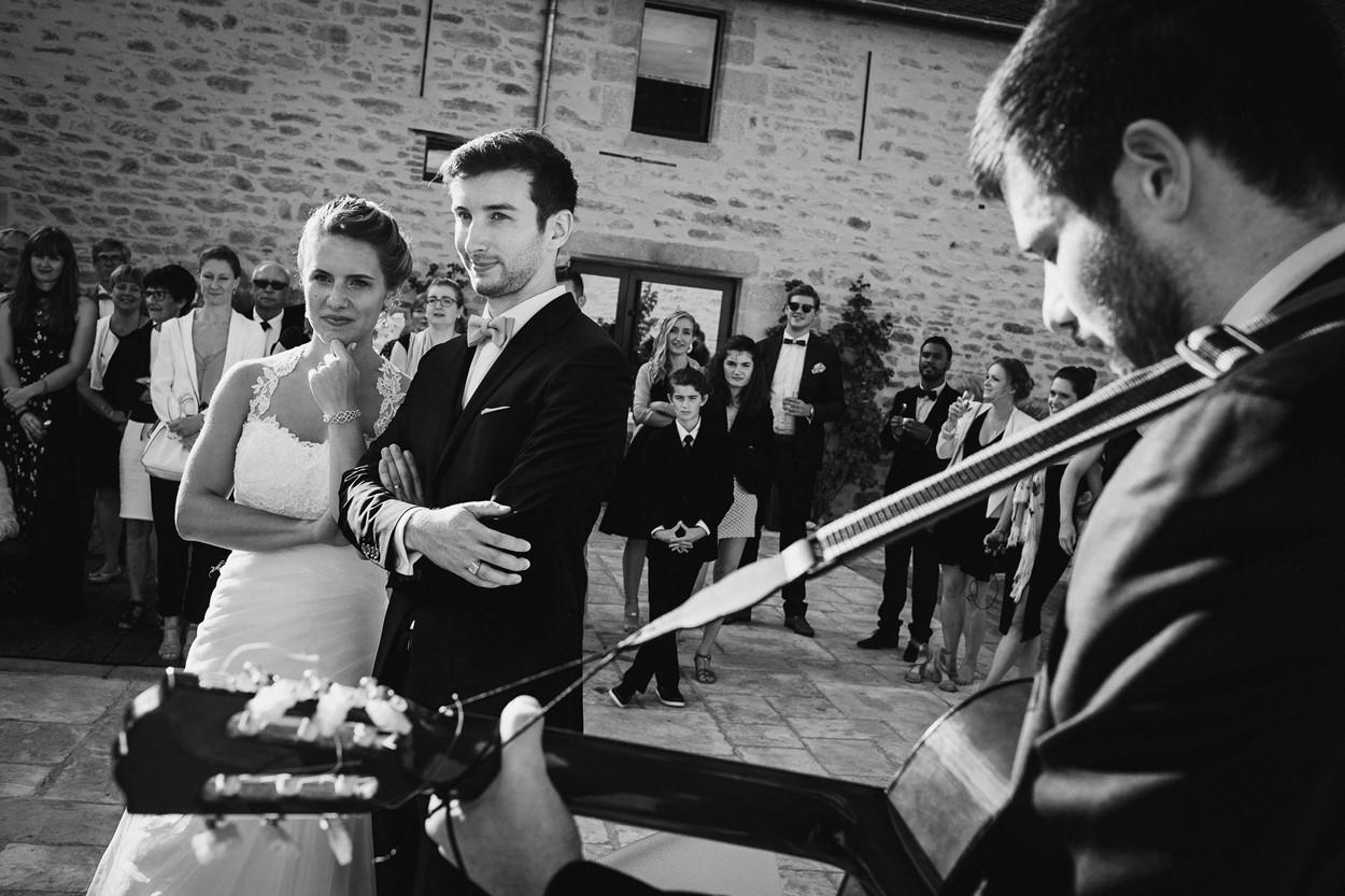 mariés et guitariste