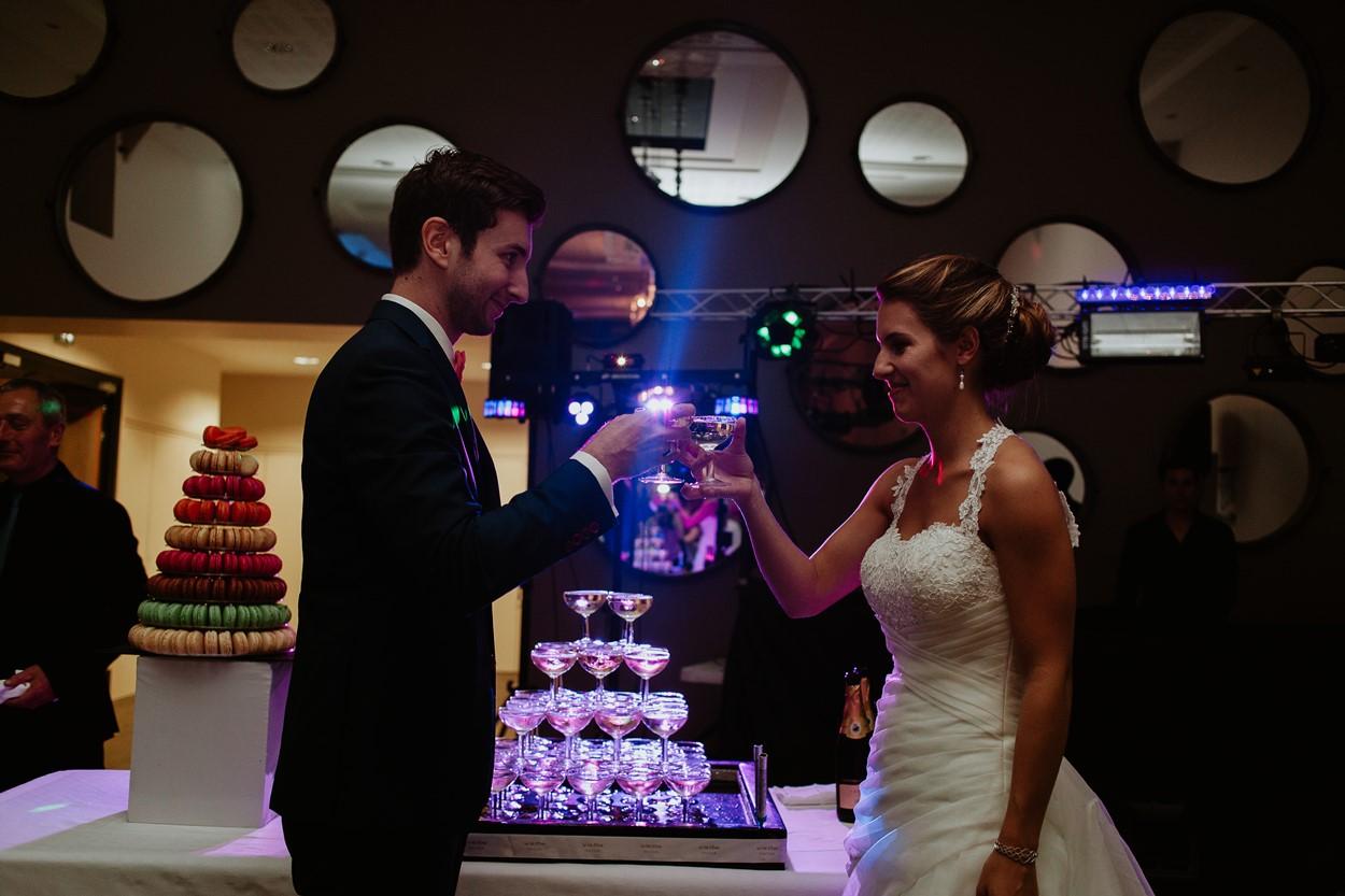 fontaine champagne mariés ferme lauvergnac