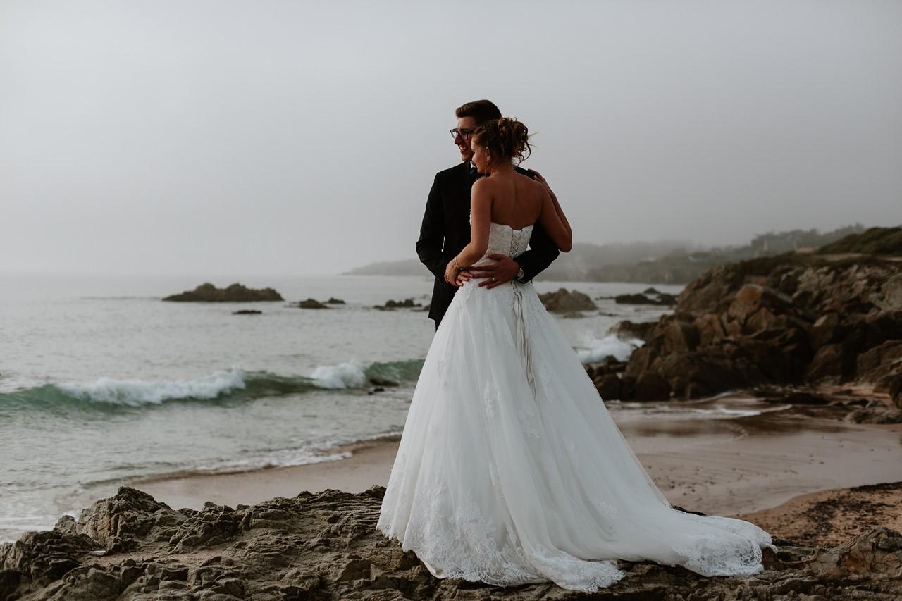 Mariés plage Batz sur Mer