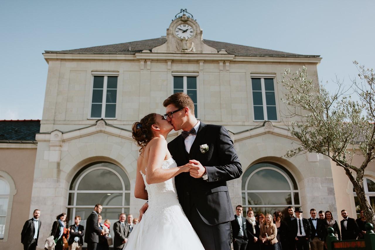 Mariés mairie St Etienne de Montluc