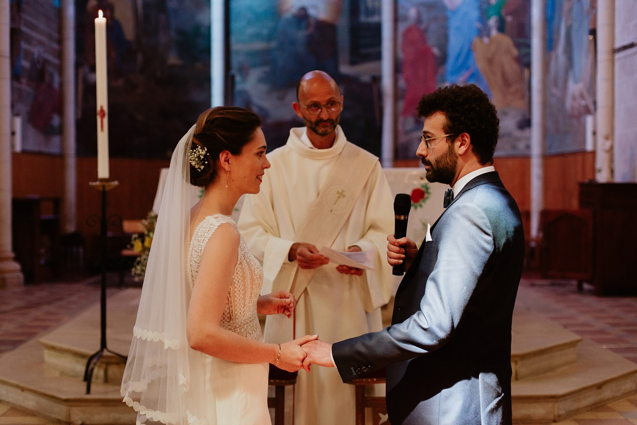 mariage angers église échanges consentement mariés
