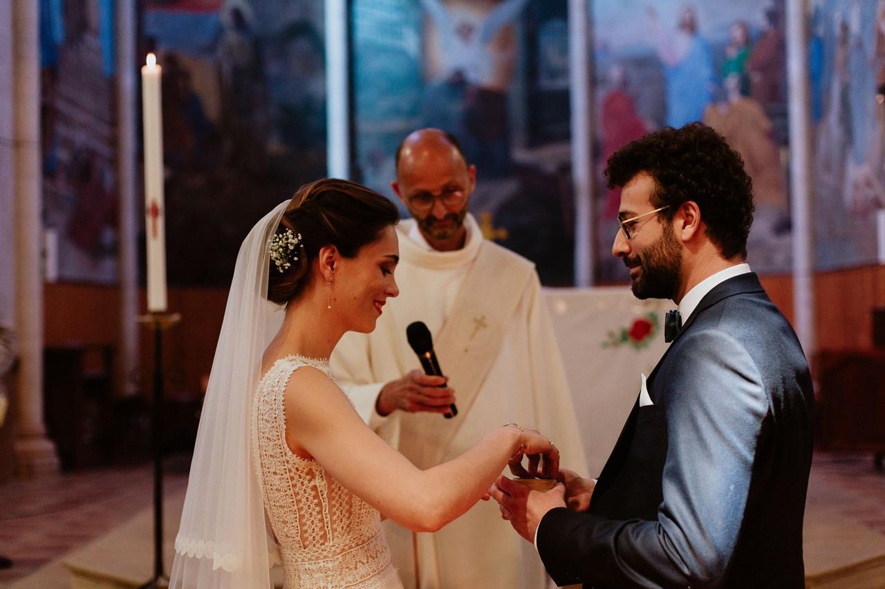 mariage angers échanges alliances mariés