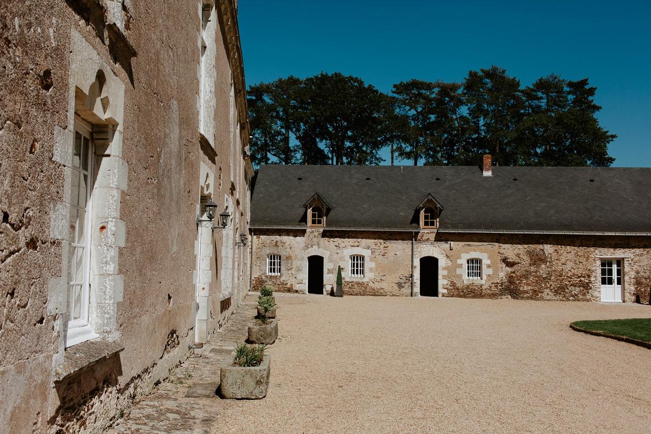 mariage angers château de la Cartrie architecture
