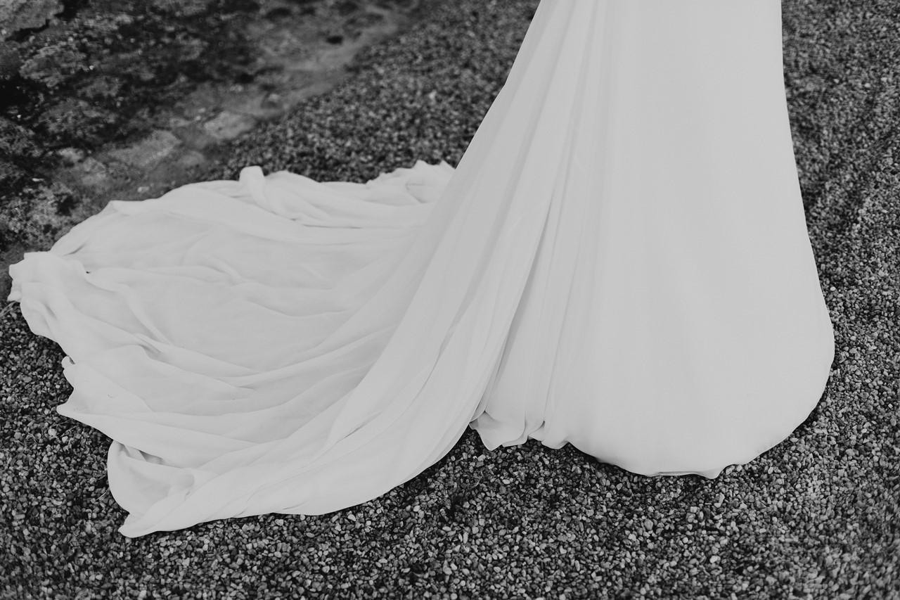 mariage angers château de la Cartrie photo couple robe mariée