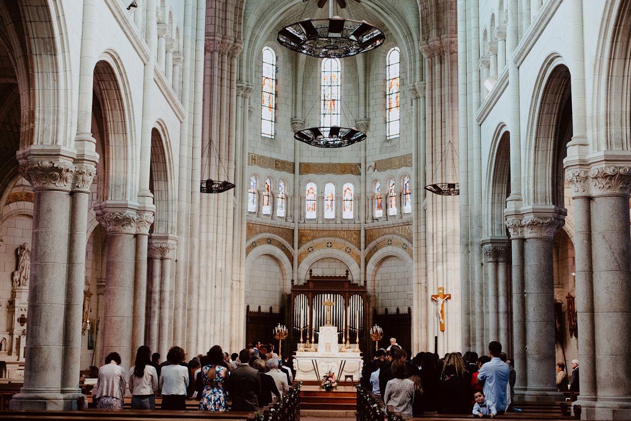 Mariage bohème saint père en retz église