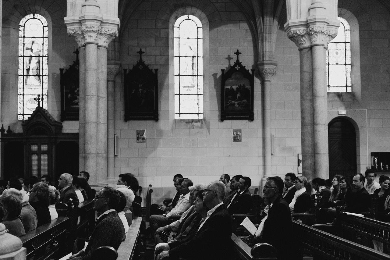 Mariage bohème nantes invités église