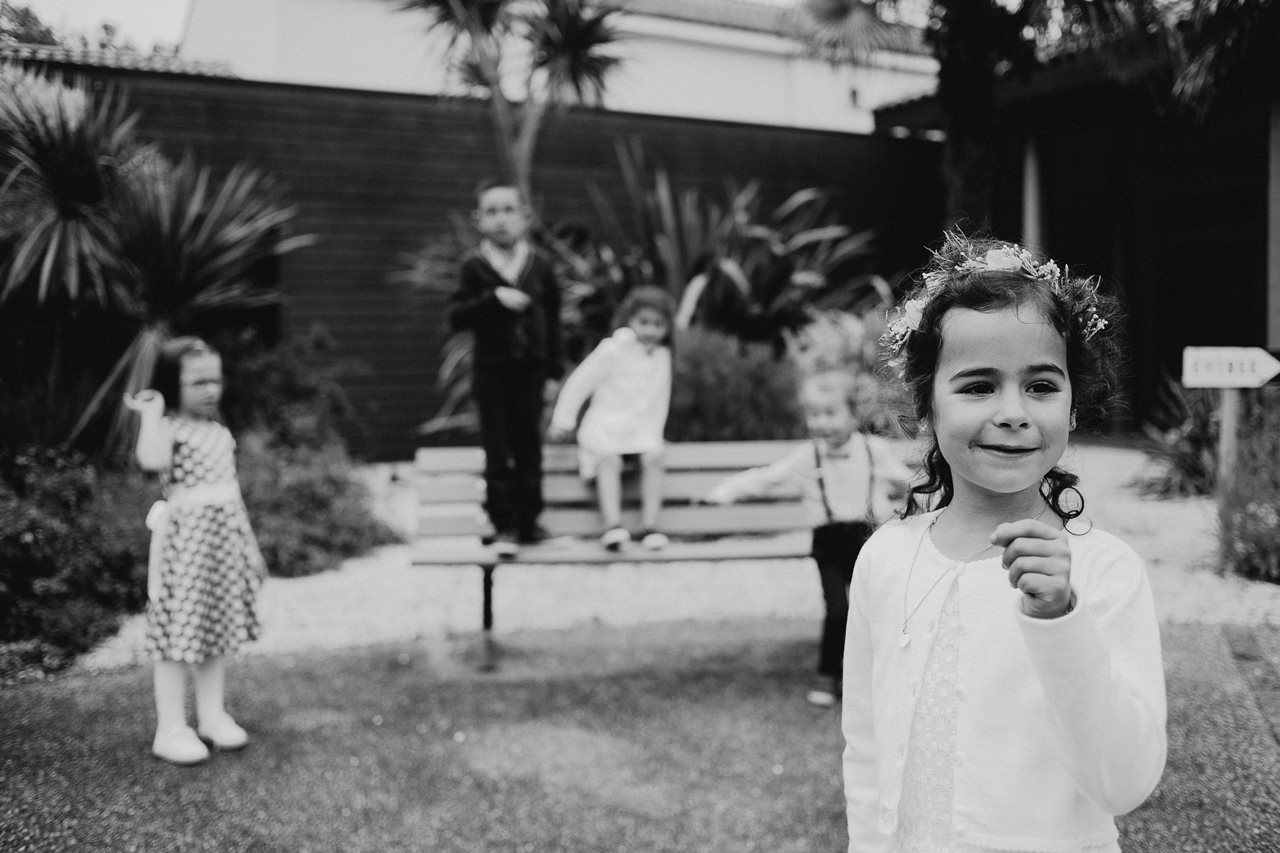Mariage bohème nantes portraits enfants