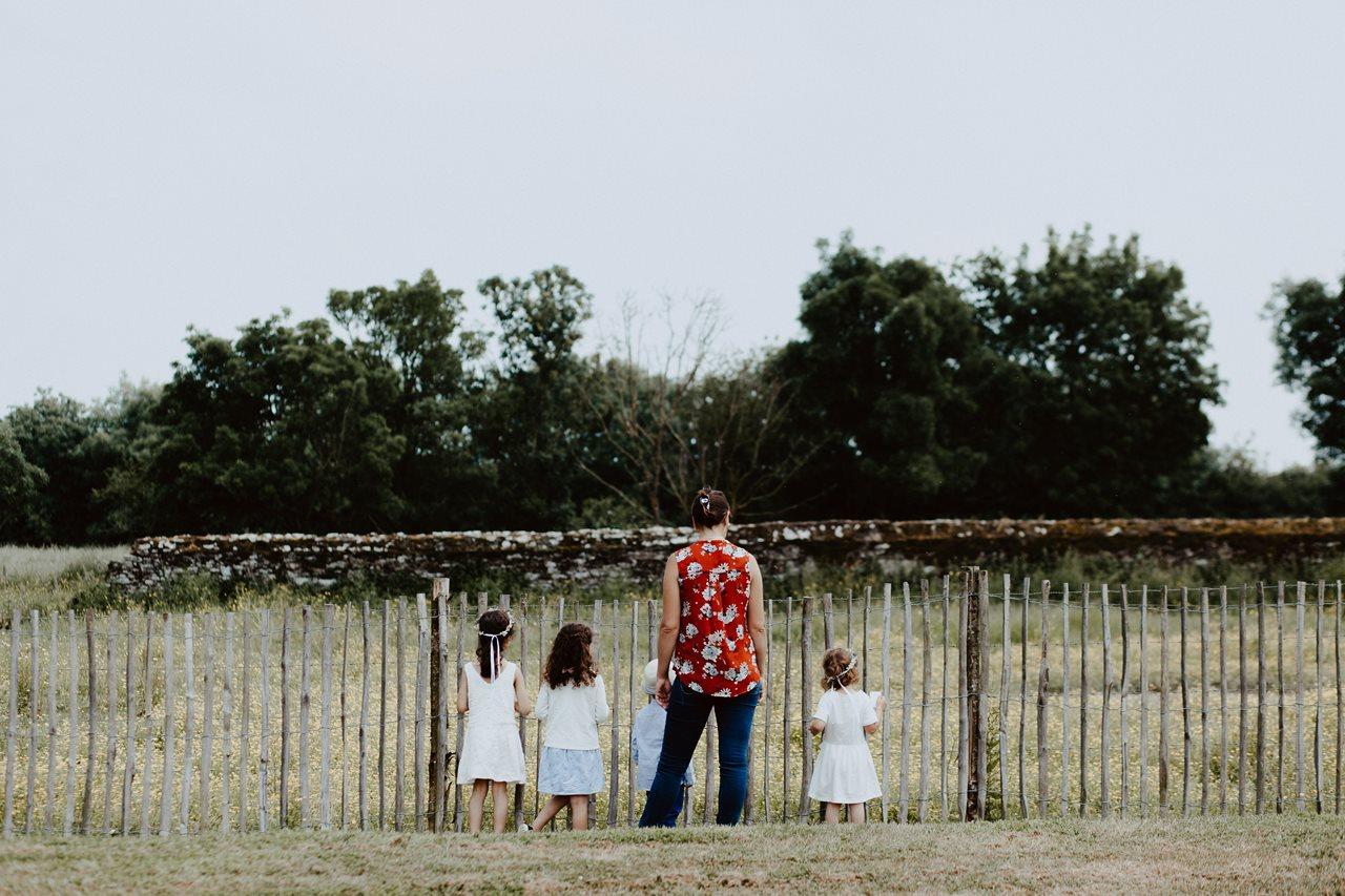 Mariage bohème guermiton enfants mariage