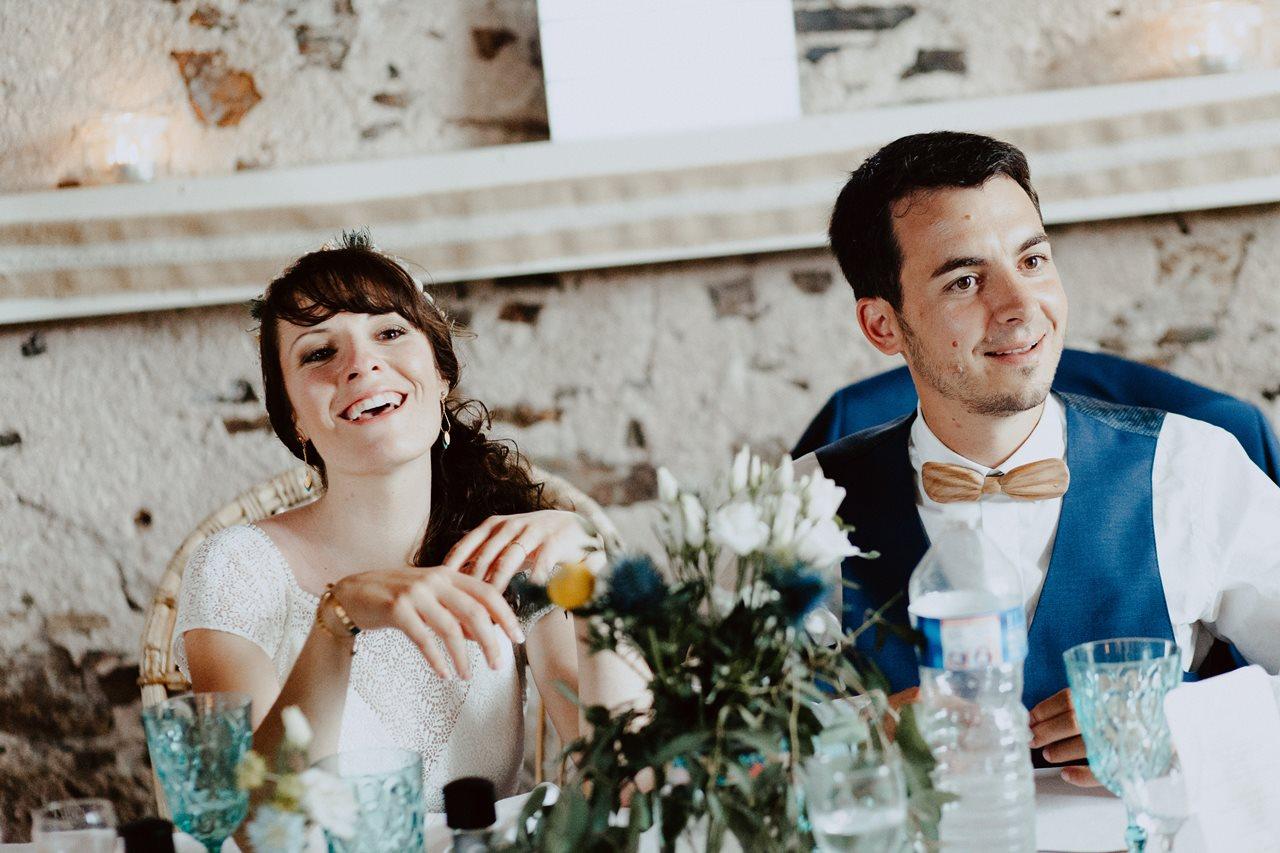 Mariage bohème guermiton portraits mariés animations