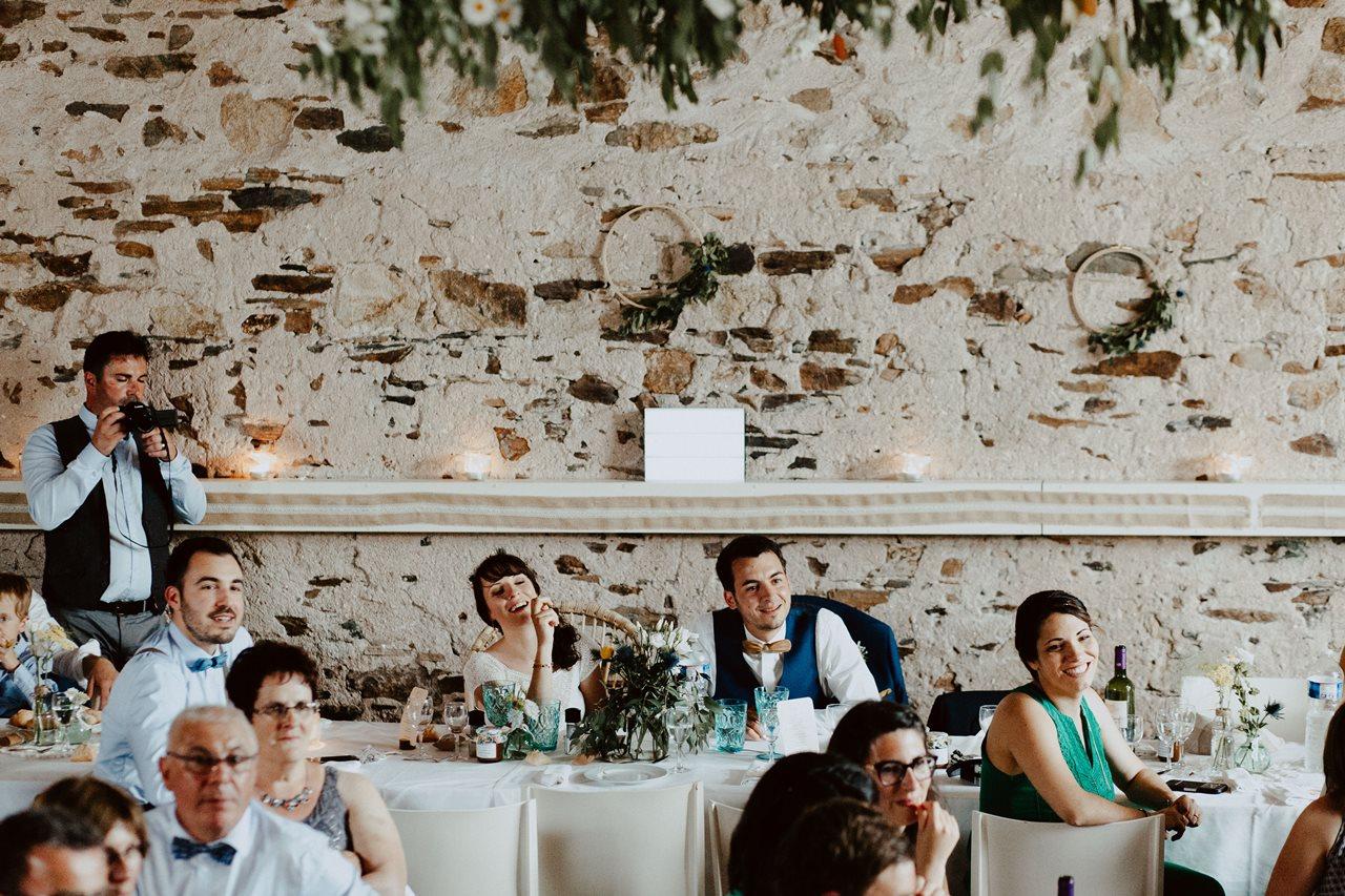 Mariage bohème guermiton rires mariés animations