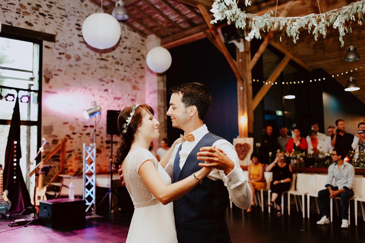 Mariage bohème guermiton ouverture bal mariés