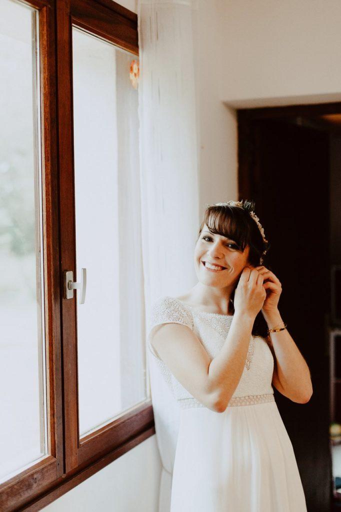 Mariage bohème nantes préparatifs mariée
