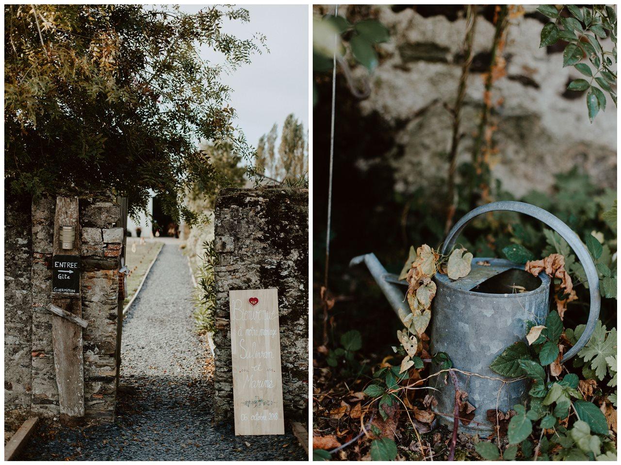 Photographie paysagage jardin guermiton arrosoir