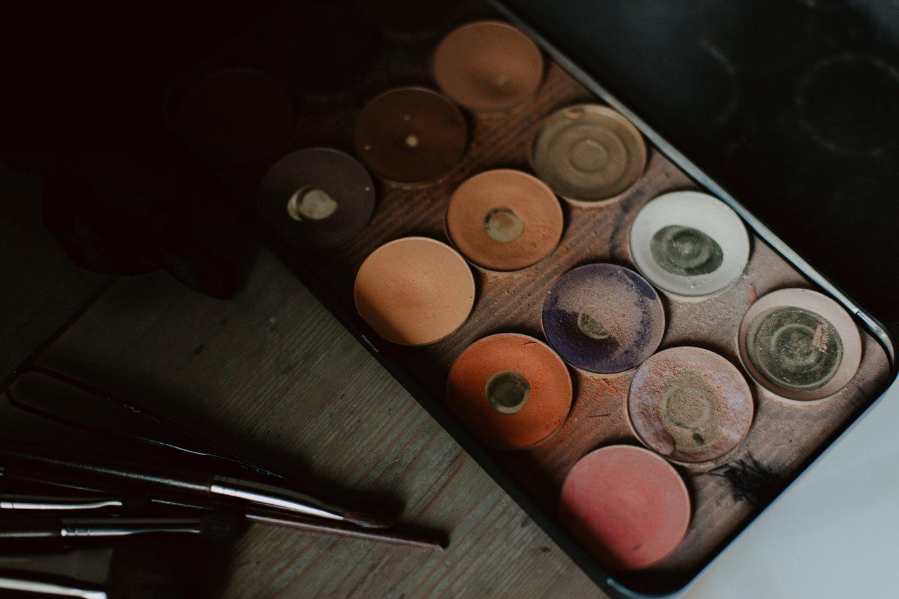 Photographie maquillage détail