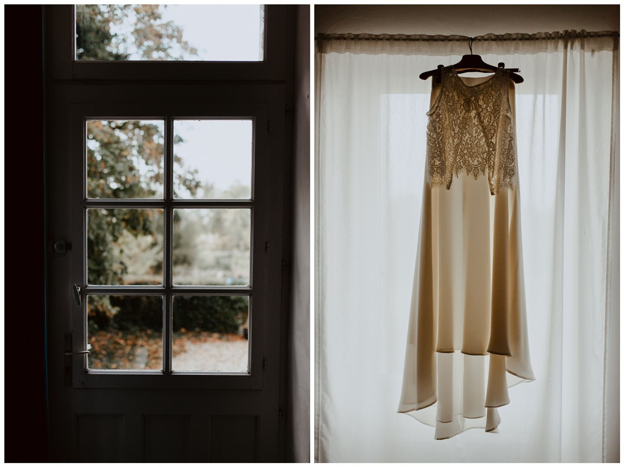 Photographie mariage robe mariée
