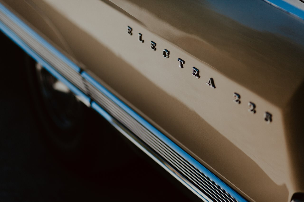 voiture buick electra 225 détail carosserie