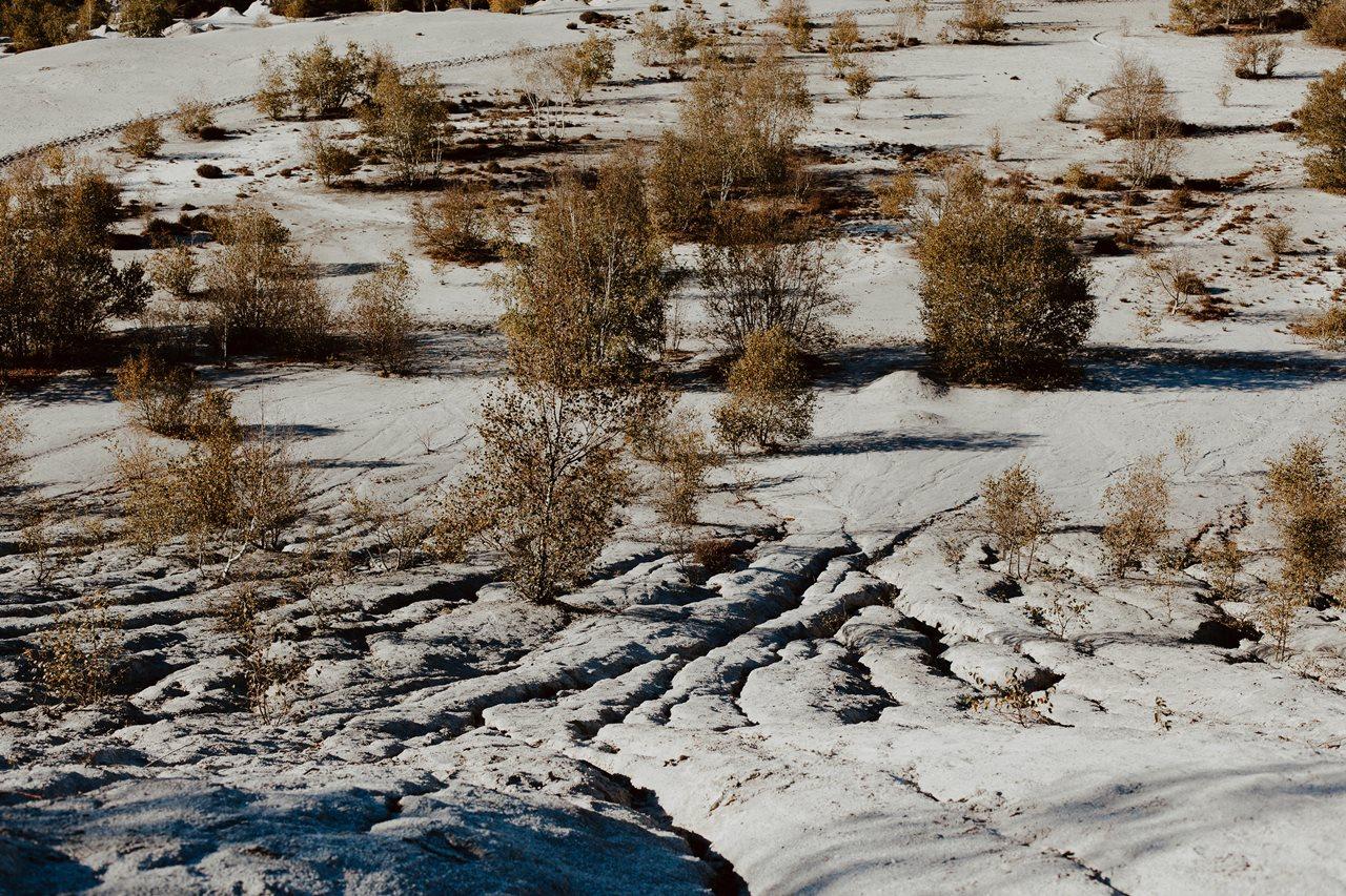 mariage nude désert paysage plaine désertique
