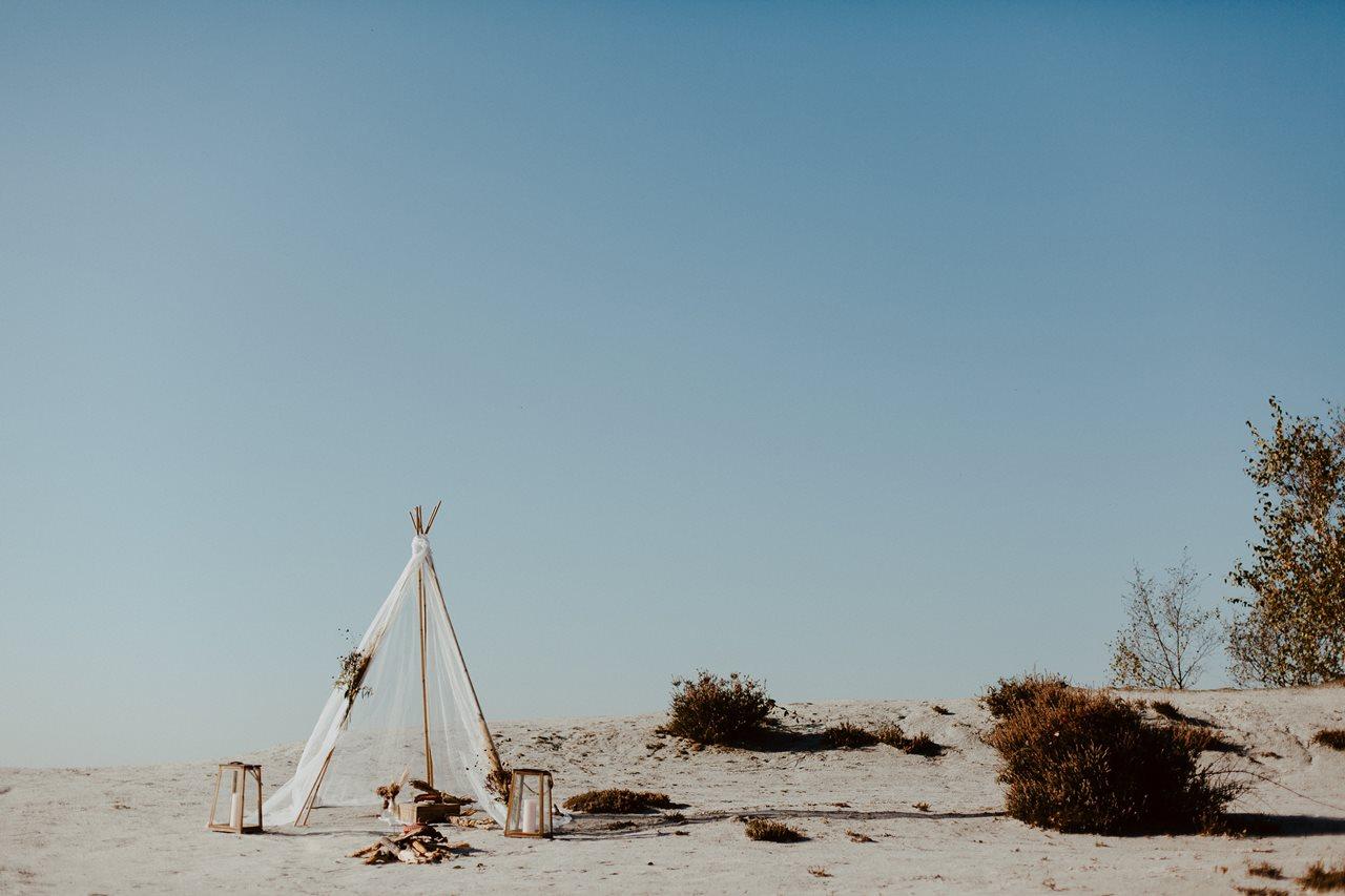 mariage nude tipi cérémonie laïque plage