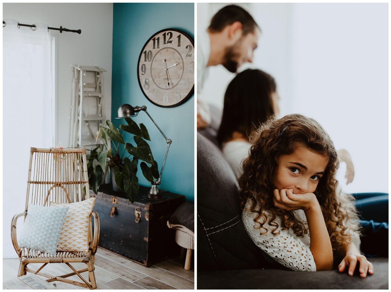 séance famille lifestyle portrait enfant décoration maison