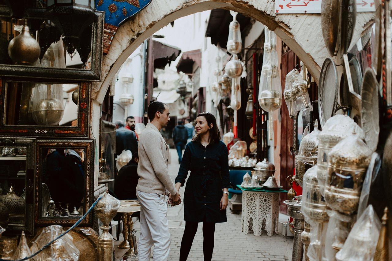 séance couple maroc fès mariés médina