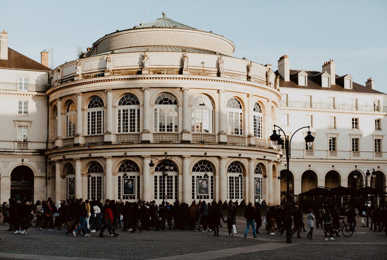 photographie place de la mairie Rennes
