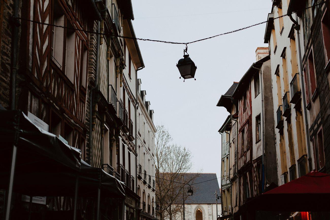 photographie rue saint-michel Rennes