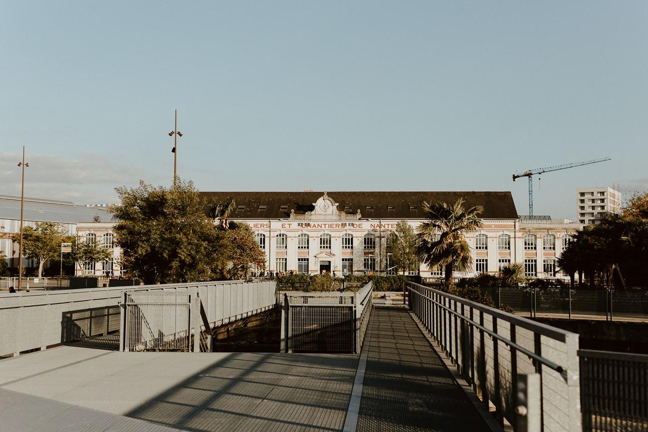 séance couple urbaine Nantes chantiers navals île de Nantes