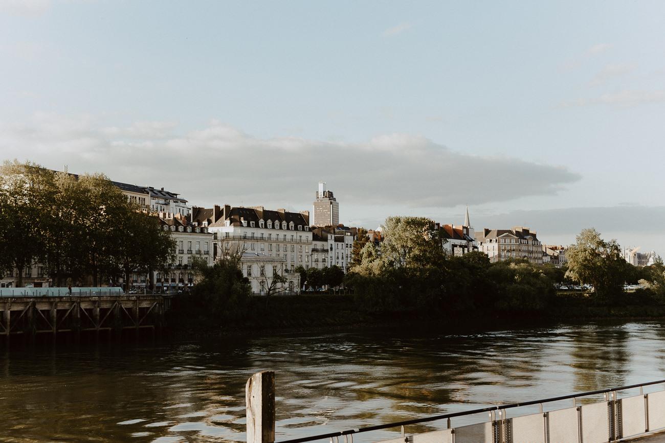 séance photo Nantes bord de Loire quai de la fosse