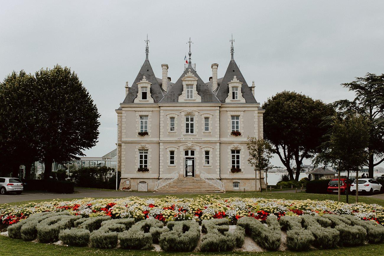 mairie Pouliguen façade hôtel de ville