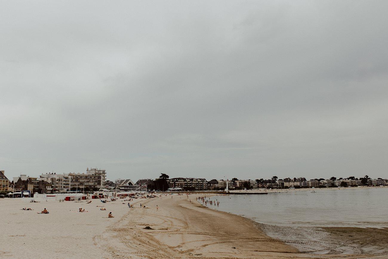 plage du Pouliguen côte d'Amour