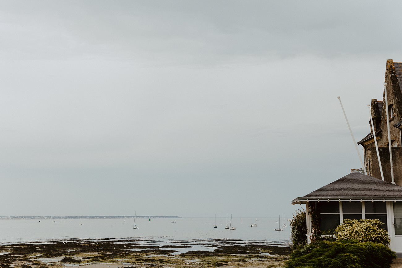 océan atlantique côte d'Amour bâteaux maison