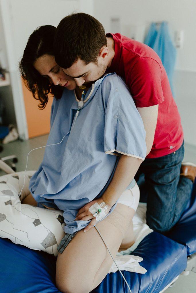 Reportage photo accouchement préparation accouchement parents