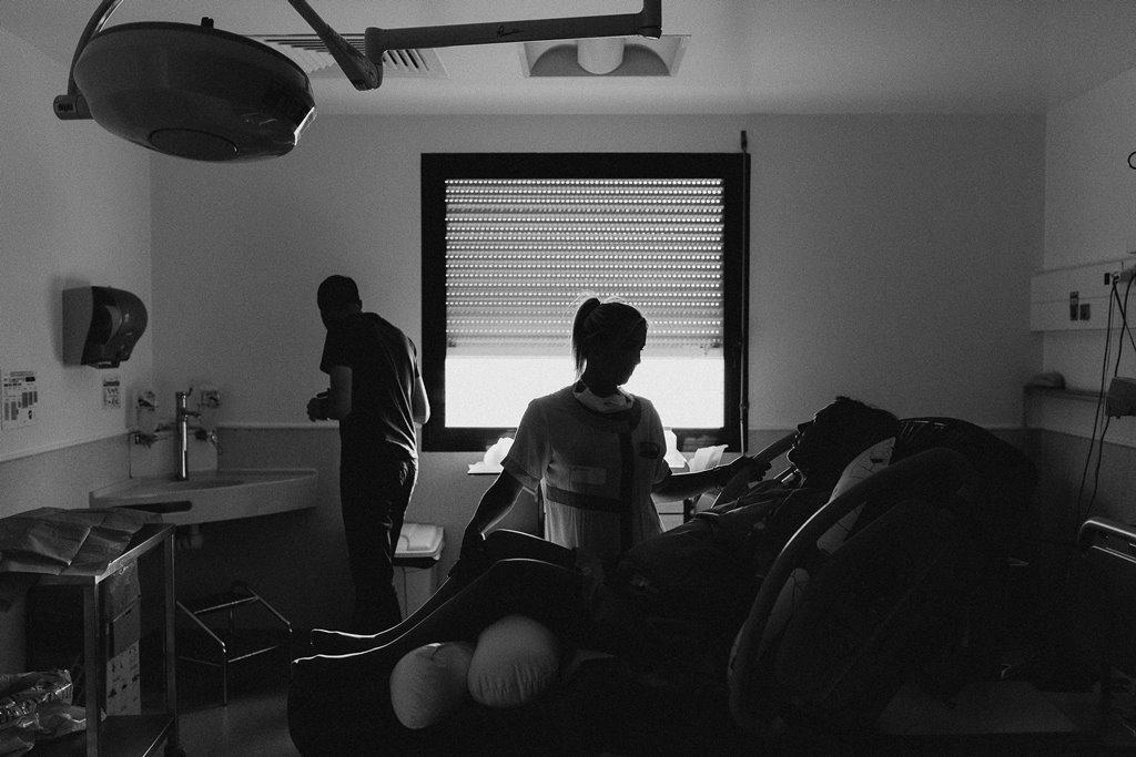 Reportage photo naissance préparation accouchement polyclinique de l'Atlantique Nantes
