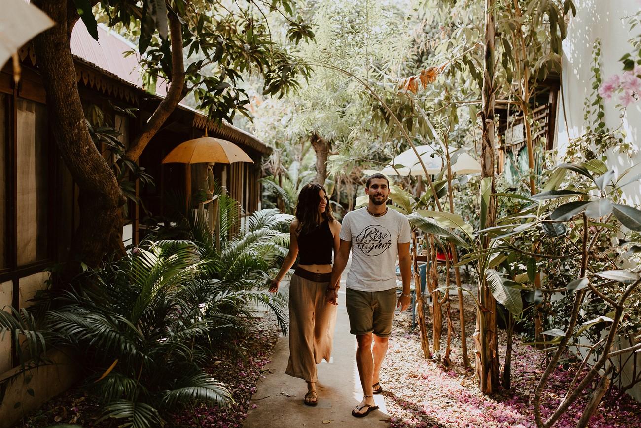 promenade amoureux vacances centre yoga cambodge