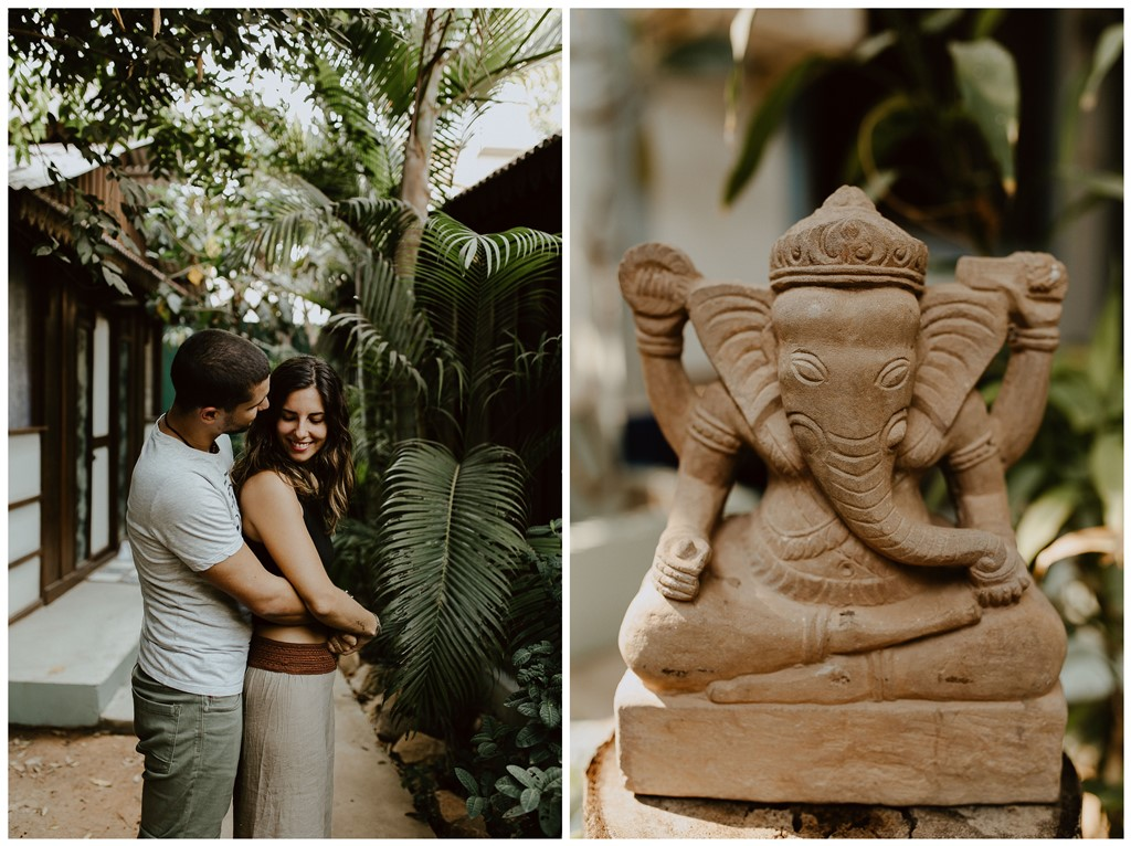 photo portrait couple et statut ganesh