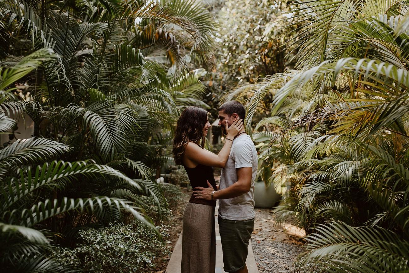 séance photo couple vacances palmiers cambodge
