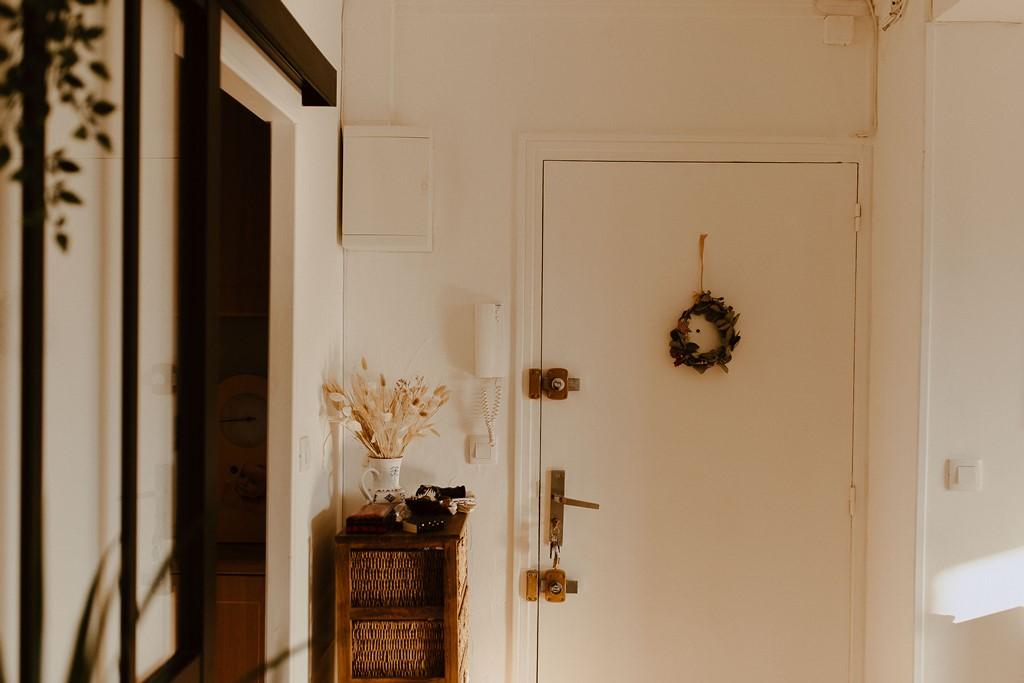 entrée appartement décoration