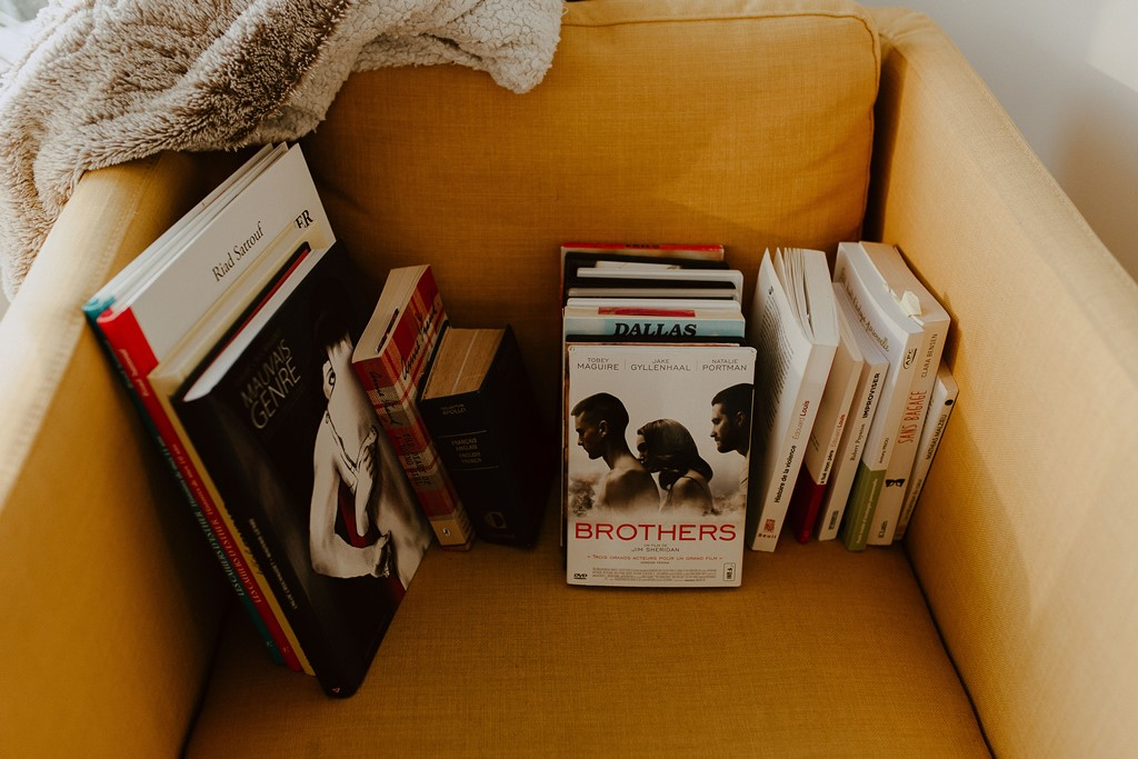 livres canapé