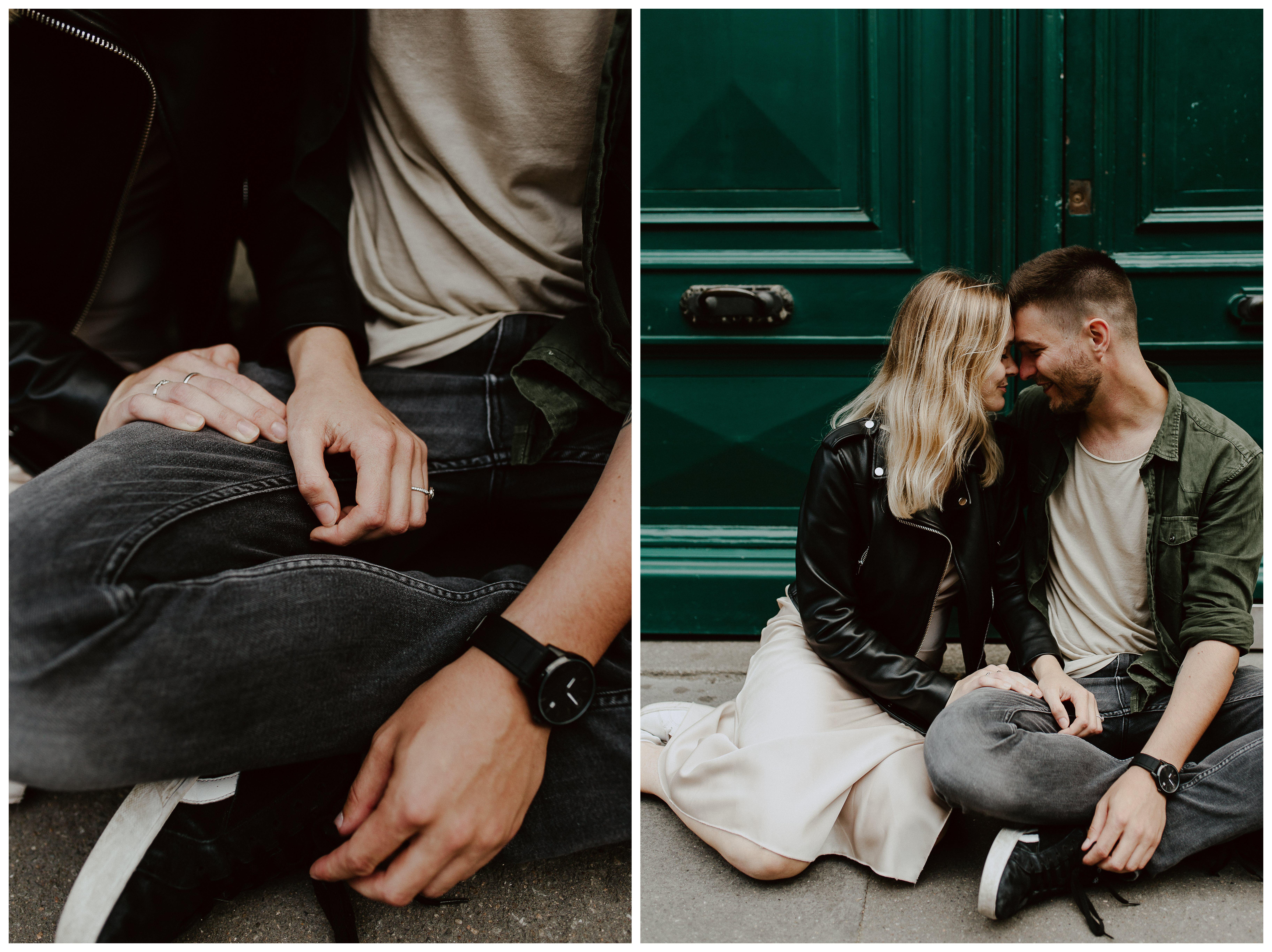 séance photo engagement futurs mariés Nantes